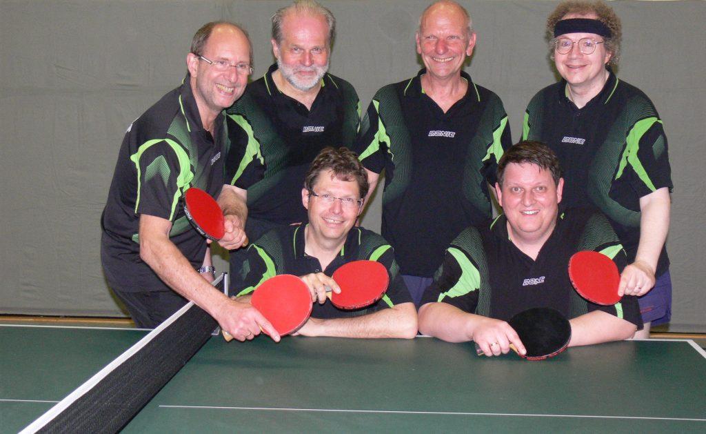 v.l.n.r stehend: Peter Herrchen, Martin Perger, Rolf Mätz, Markus Kreidel - sitzend: Klaus Götz, Heinz-Dirk Neiter
